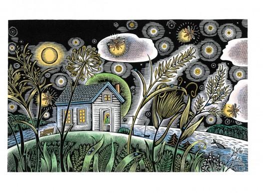 Un'illustrazione di Beth Krommes, presente alla 34esima edizione de 'Le immagini della fantasia'
