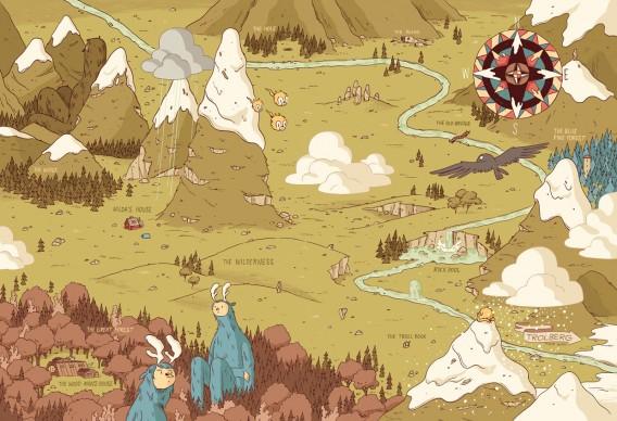 Un'illustrazione di Luke Pearson, presente alla 34esima edizione de 'Le immagini della fantasia'