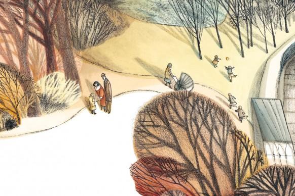 Un'illustrazione di Tiziana Romanin, presente alla 34esima edizione de 'Le immagini della fantasia'