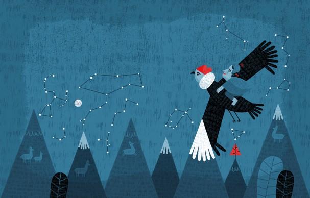 Un'illustrazione di Paloma Valdivia (Cile), presente alla 34esima edizione de 'Le immagini della fantasia'