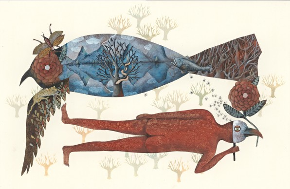 Un'illustrazione presente alla 34esima edizione de 'Le immagini della fantasia'