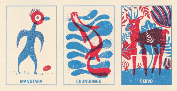 Un'illustrazione del Memory Cileno, presente alla 34esima edizione de 'Le immagini della fantasia'