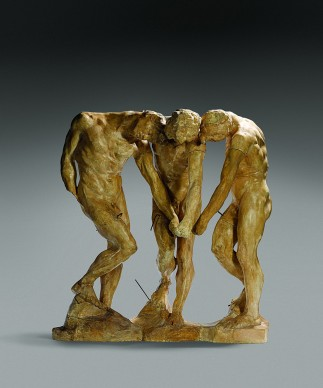 Auguste Rodin,  Le tre ombre (per La Porta dell'Inferno), 1897,  Paris, Musée Rodin Inv. S.3970 © Musée Rodin (photo Christian Baraja)