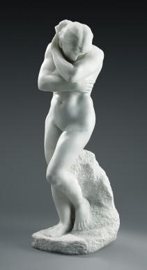 Auguste Rodin, Eva (per La Porta dell'Inferno), 1883, Art Gallery of Ontario, Toronto