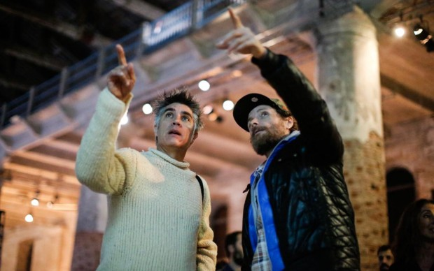 Alejandro Aravena e Jovanotti (foto Jacopo Salvi courtesy La Biennale di Venezia)