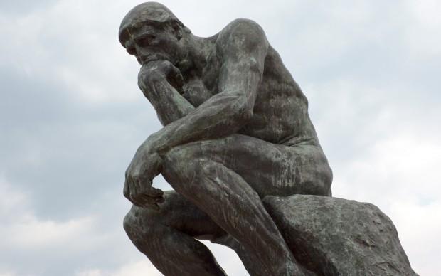 Auguste Rodin, Il Pensatore, 1903, bronzo, Kyoto National Museum, photo by Japanexperterna.se, Fonte Flickr
