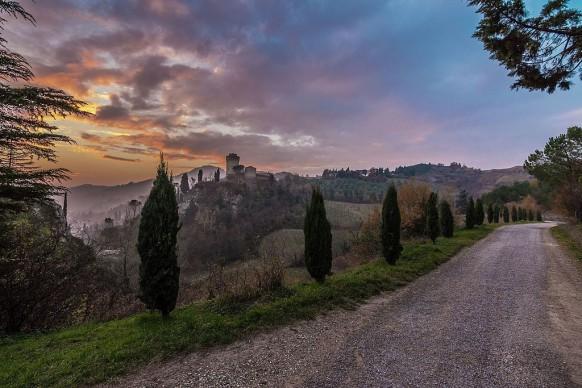 Paolo_forconi, Panorama della Rocca - Rocca Manfrediana - Brisighella (RA), 2016, tra i vincitori di Wiki Loves Monuments Italia