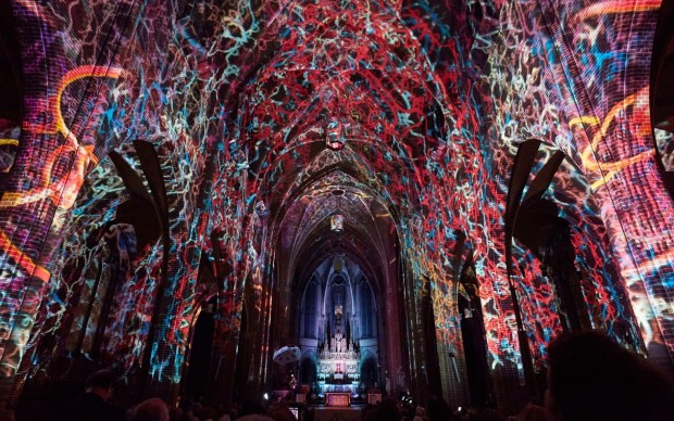 GLOW 2014, Transcendent Flow by Casa Magica. Photo by Claus Langer