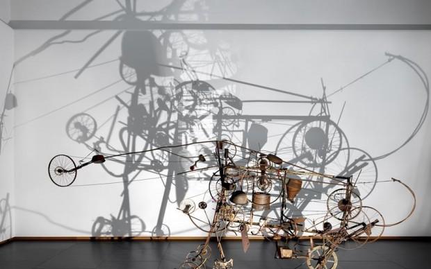 Jean Tinguely, Gismo, 1960, coll. Stedelijk Museum Amsterdam. Foto Gert Jan van Rooij