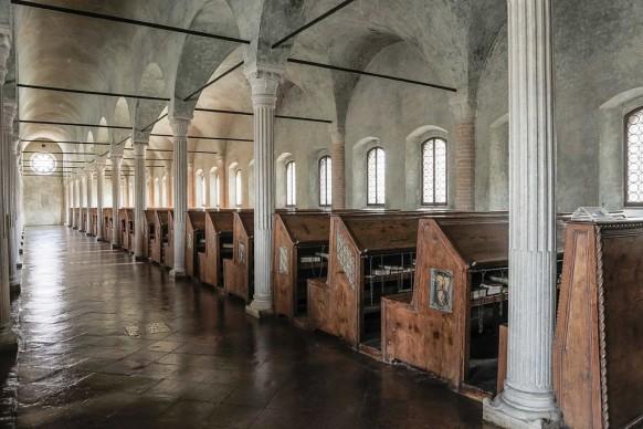 Boschettim65, Sala del Nuti - Biblioteca Malatestiana - Cesena (FC), 2016, tra i vincitori di Wiki Loves Monuments Italia