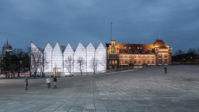 World Architecture Festival, LWorld Building of the Year 2016 – Robert Konieczny-KWK Promes, National Musuem in Szczecin – Dialogue Centre Przelomy