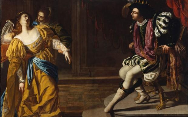 Artemisia Gentileschi Ester e Assuero Olio su tela, 208,3x273,7 cm Lent bt The Metropolitan Museum of Art, Gift of Elinor Torrance Ingersoll, 1969