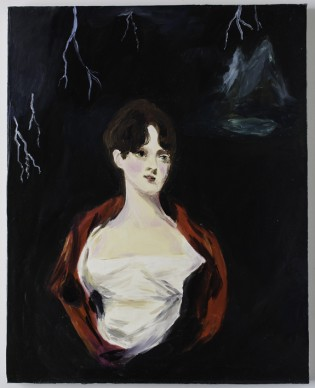 Karen Kilimnik, Mary Shelley Writing Frankenstein, 2001 © L'artiste, courtesy Cranford Collection, London. Photo: Richard Ivey