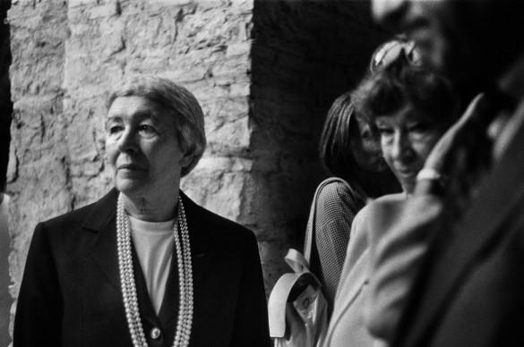 Letizia Battaglia, Gae Aulenti, Torino, 2006. Courtesy l'artista
