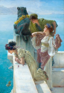 Sir Lawrence Alma-Tadema, Coign of Vantage, 1895, 1. Collection of Ann and Gordon Getty