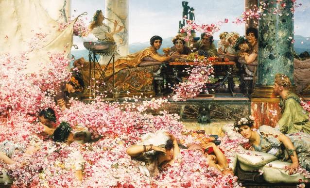Sir Lawrence Alma-Tadema, The Roses of Heliogabalus, 1888, 7. Colección Pérez Simón, Mexico. Photo © Arturo Piera