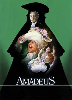 Renato Casaro, illustrazione per il film Amadeus