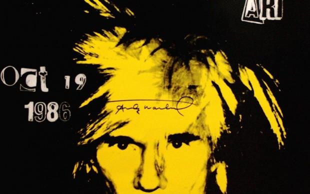 Andy Warhol, autoritratto, 1986