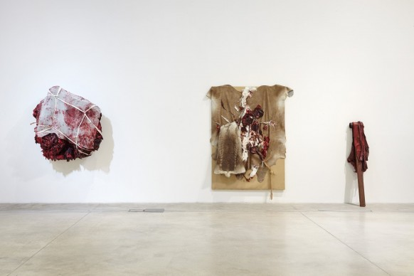 Anish Kapoor, installation view della mostra al MACRO - Museo d'Arte Contemporanea Roma, dicembre 2016
