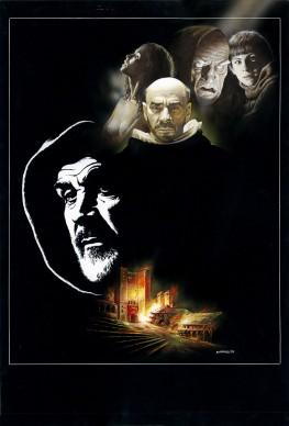Renato Casaro, illustrazione per il film Il nome della rosa