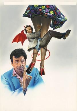Renato Casaro, illustrazione per il film Il piccolo diavolo