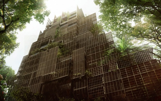 Jean Nouvel, Rosewood Tower, San Paolo