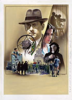 Renato Casaro, illustrazione per il film L'uomo delle stelle