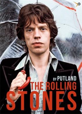 La copertina del libro THE ROLLING STONES. By Putland, LullaBit, 2016
