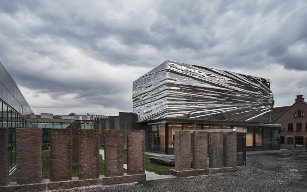 Snøhetta, Lillehammer Art Museum e Lillehammer Cinema, foto Mark Syke