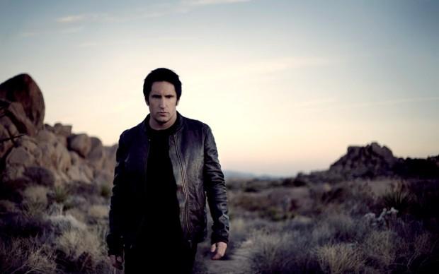 Trent Reznor, February, 2008 by Rob Sheridan