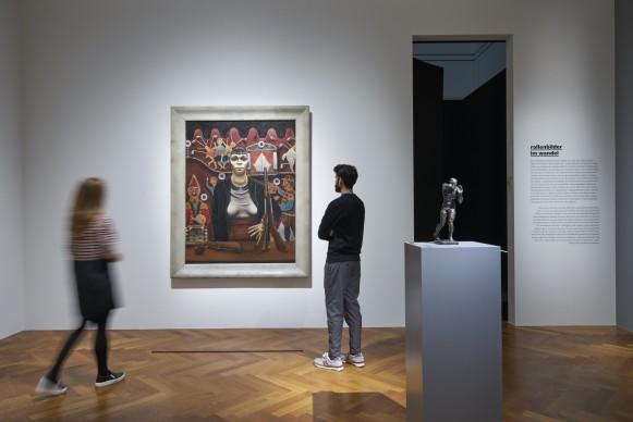 """Exhibition view """"Battle of the Sexes. Franz von Stuck bis Frida Kahlo"""" Photo: Städel Museum"""