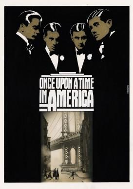 Renato Casaro, illustrazione per il film C'era una volta in America