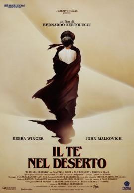 Renato Casaro, locandina cinematografica de Il té nel deserto