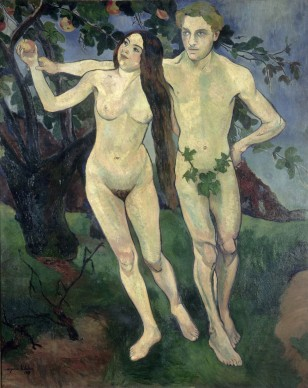 Suzanne Valadon (1865–1938), Adam and Eve (Self-Portrait with André Utter), 1909, Centre Pompidou, Paris, MNAM/CCI. Photo: © bpk / Centre Pompidou, MNAM-CCI, Dist. RMN-Grand Palais / Jacqueline Hyde