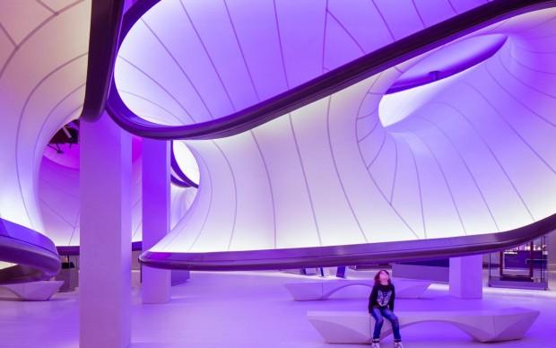 Zaha Hadid, Mathematics: The Winton Gallery, Londra