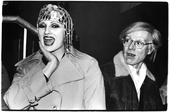 Candy Darling e Andy Warhol © Anton Perich