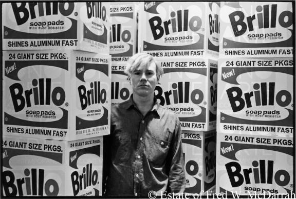 Andy Warhol © Estate of Fred W. McDarrah