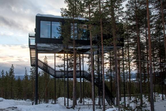 Snohetta, Treehotel - 7th room © Johan Jansson