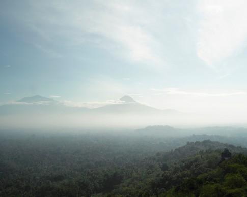 Bas Princen. Volcano Walk, Gunung Merapi (plateau), 2015. C-print, 125 x 156 cm  © Bas Princen