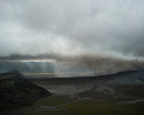 Bas Princen. Volcano Walk, Gunung Bromo (January eruption), 2016. C-print, 180 x 225 cm  © Bas Princen