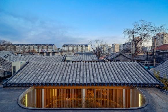 Arch Studio, Tea House, Pechino. Photo by Wang Ning
