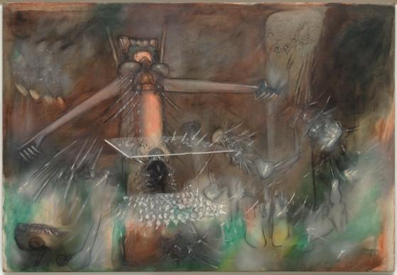 Roberto Sebastián Matta, The Un-Nominator Renominated (Le Dénommeur renommé), 1952–53, Peggy Guggenheim Collection, Venice, Photo David Heald. © Sabam Belgium 2016