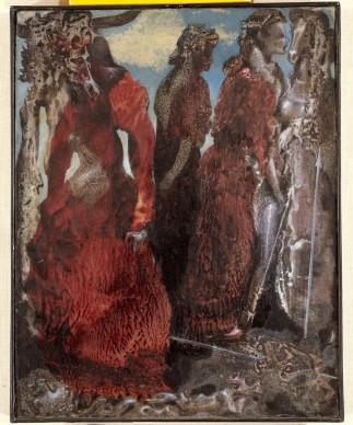 "Max Ernst, ''The Antipope"", ca. 1941, Peggy Guggenheim Collection, Venice. Photo Carmelo Guadagno © SABAM Belgium 2016"
