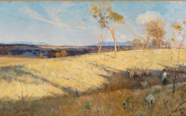 Australia's-Impressionists national gallery londra