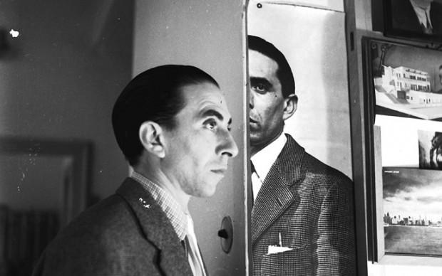 Duplice ritratto di Ico Parisi, Cernobbio 1953