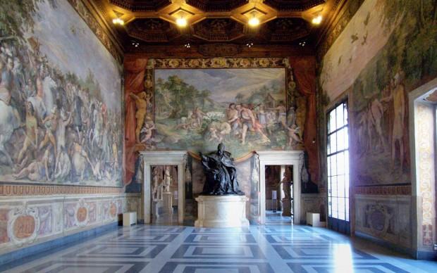 Sala Orazi Curiazi Musei Capitolini Roma statua Innocenzo X