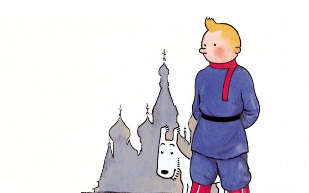 Tintin_au_pays_des_Soviets_le avventure di tintin primo albo serie fumetti