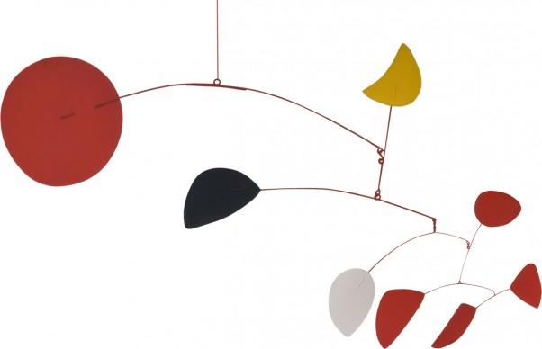 Alexander Calder, Yellow Moon (Croissant jaune), 1966, Solomon R. Guggenheim Foundation, Hannelore B. and Rudolph B. Schulhof Collection, bequest of Hannelore B. Schulhof, 2012. Photo David Heald. © 2016 Calder Foundation, New York, SABAM Belgium 2016
