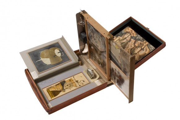 Marcel Duchamp, Box in a Valise (Boîte-en-valise), 1941,  Peggy Guggenheim Collection, Venice. Photo Sergio Martucci. © Succession Marcel Duchamp, SABAM Belgium 2016