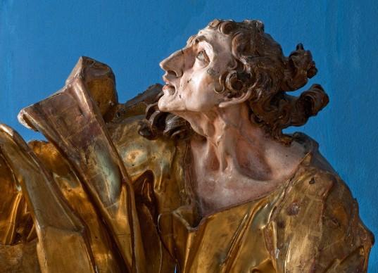 Johann Georg Pinsel, Saint John (detail), 1758 the latest © Lviv National Art Gallery